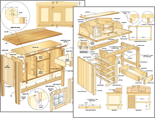 woodworking plans and pdf for beginners