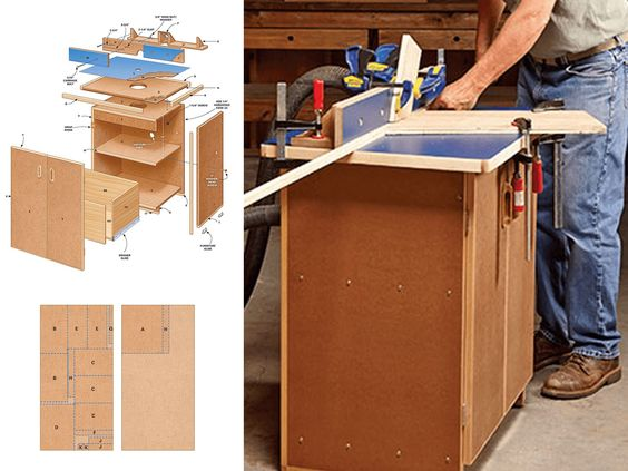 router table tutorial woodworking project