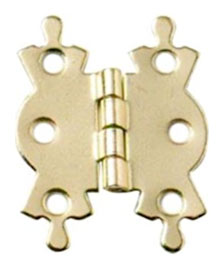 Butterfly hinge lightweight form