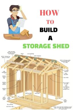 plans for a storage shed