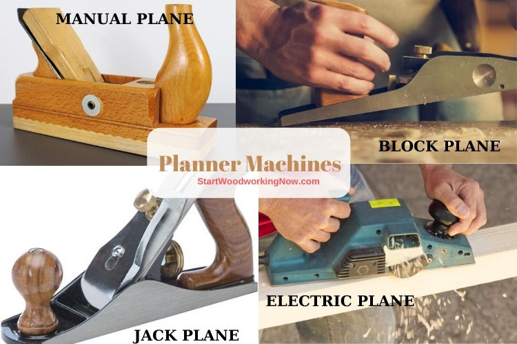 Plane Tools and Machine for Woodworking