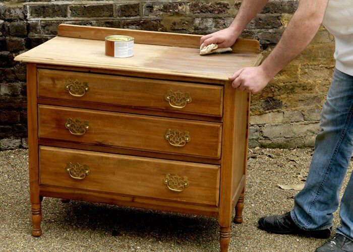 refinish wood furniture