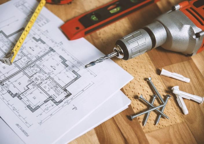repair and refinish furniture using tools