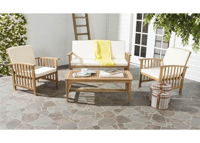 remove mold from wood garden furniture