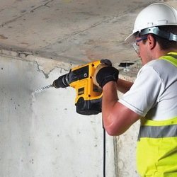 hammer drill use concrete