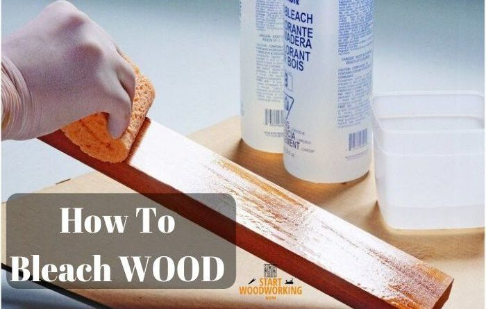 how to bleach wood
