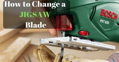 how to change a jigsaw blade