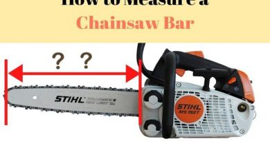 Measure a Chainsaw Bar