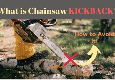 What is Chainsaw Kickback