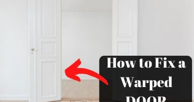How to Fix a Warped Door
