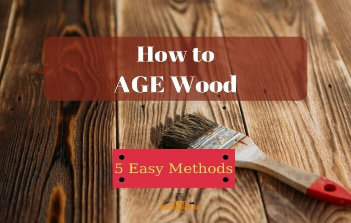 how to age wood