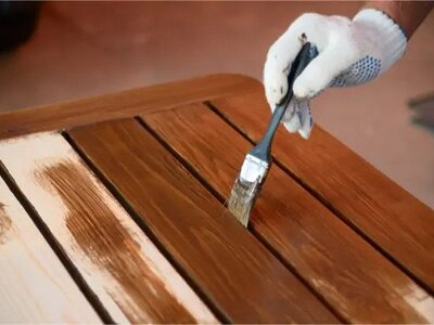 how to stain wood with coffee