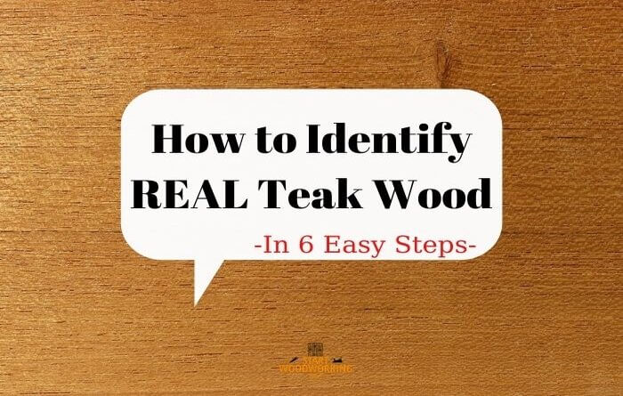 how to identify real teak wood
