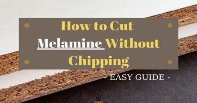 how to cut melamine without chipping