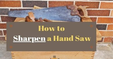 how to sharpen a hand saw